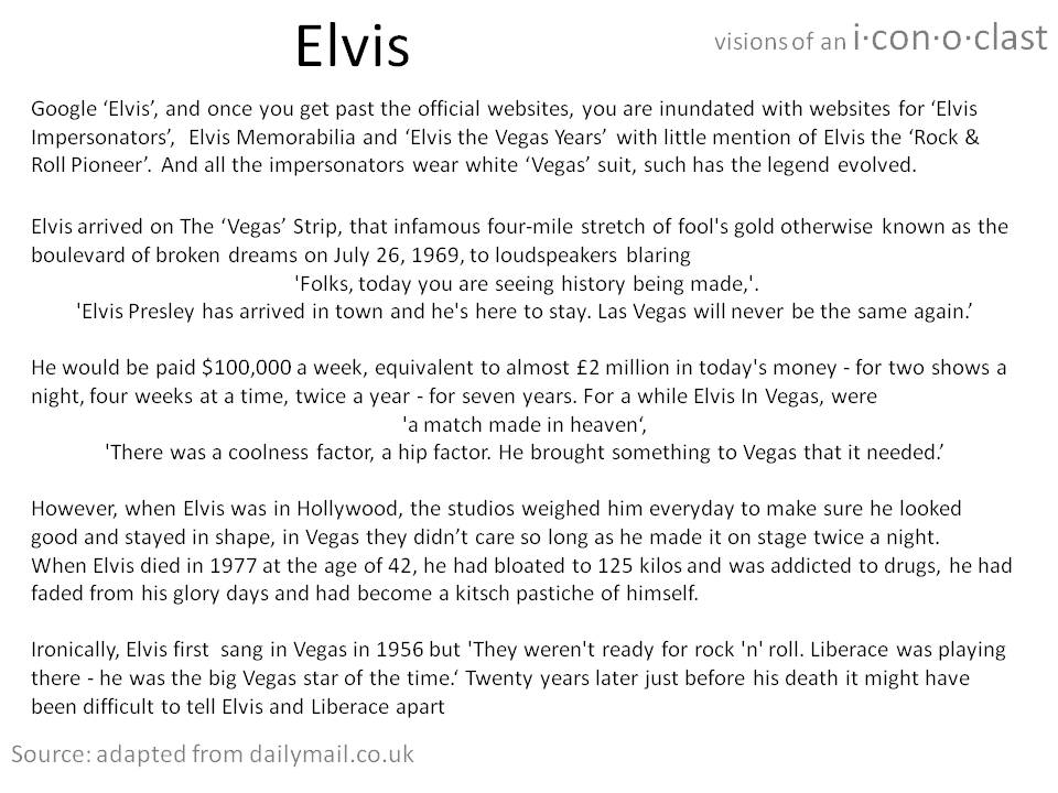 About Elvis