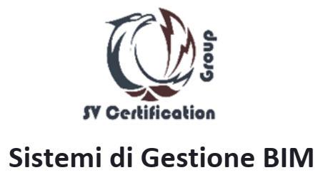 Certificazione dei Sistema di Gestione BIM (PdR  74:2019)