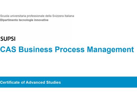 Business Process Management alla SUPSI