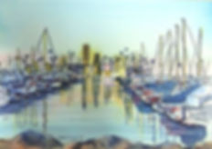 oil-island-at-rainbow-harbor-long-beach-