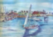 sailing-by-shoreline-village-debbie-lewi