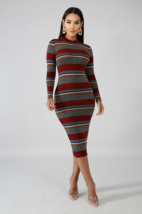 Knit Body-Con Dress