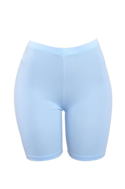 Baby Blue Baddie Biker Shorts