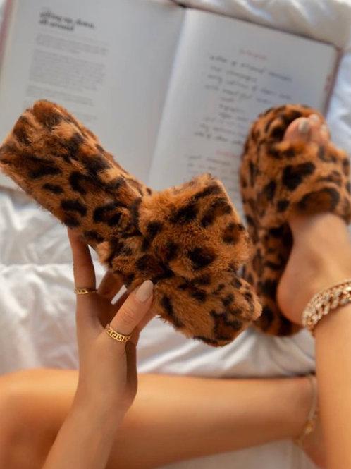 Cheetah Babe Platform Slides