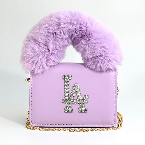 Lavender LA Purse