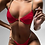 Thumbnail: Red Chain Two-Piece Swimsuit