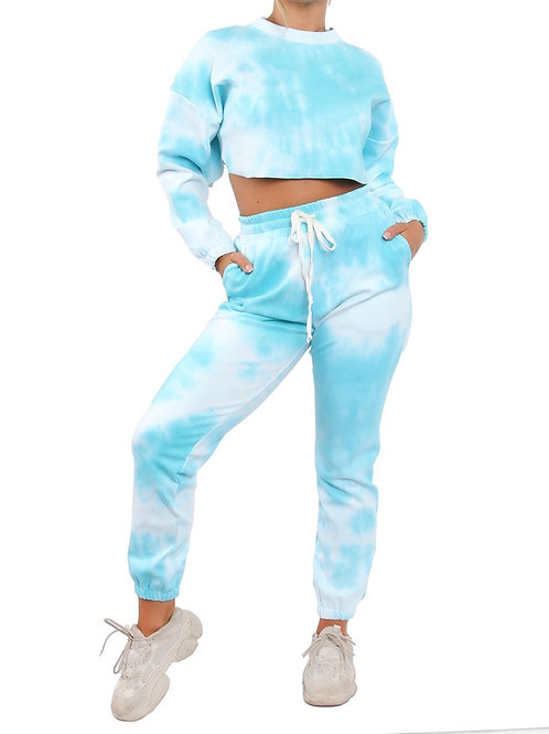 Sky Blue Tye-Dye Set