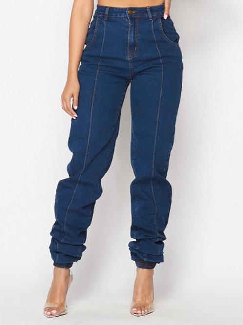 Dark Jogger Jeans