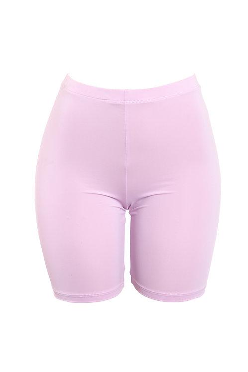Lavender Baddie Biker Shorts