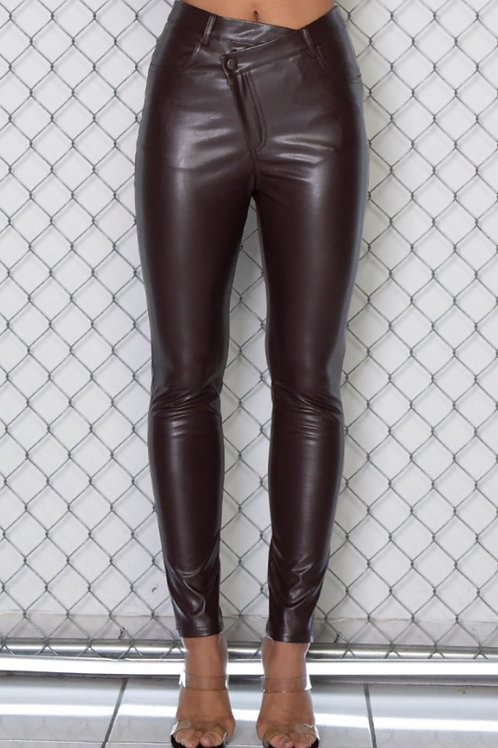 Leather Skinny Pant