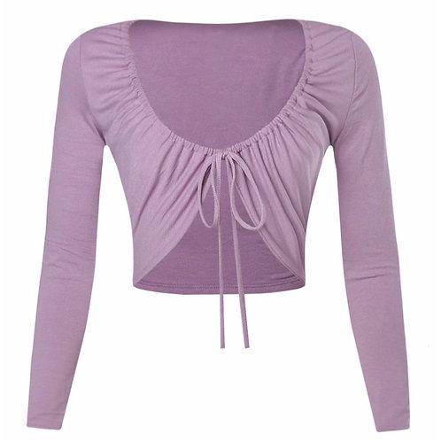 Lavender Cheryl Long Sleeve Top