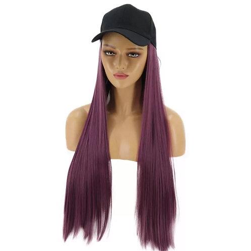 Violet Hat Wig