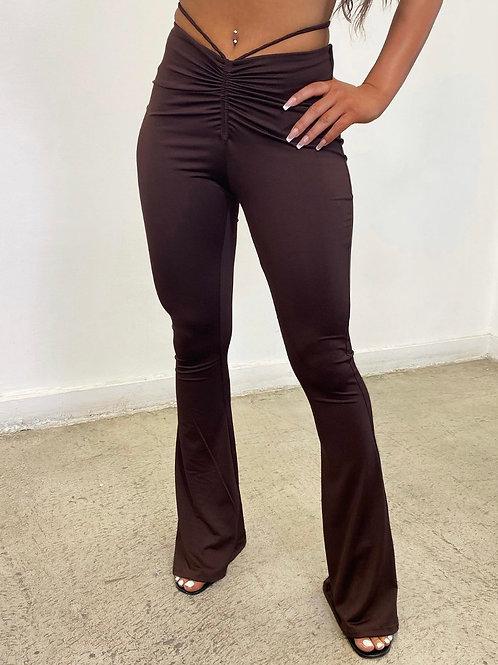 Brown Jocelyn Pants