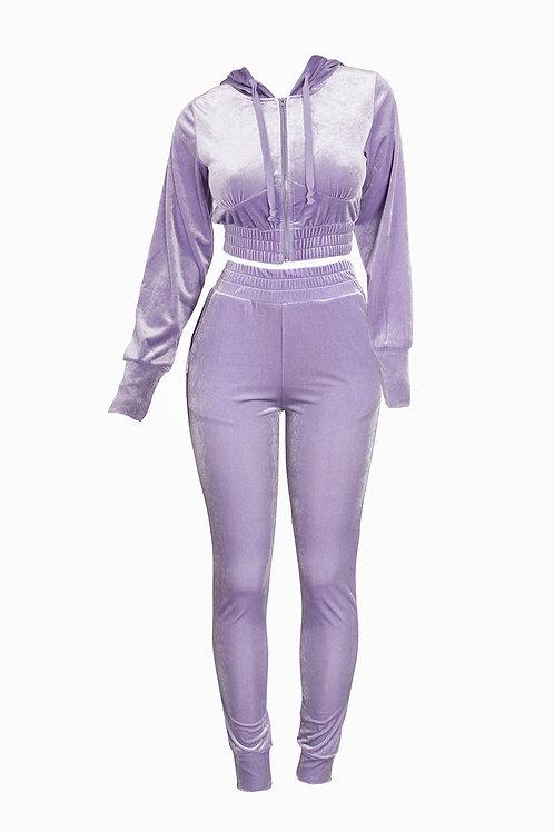 Lavender Lyha Pant Set