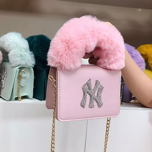 Light Pink NY Purse