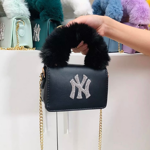 Black NY Purse