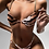Thumbnail: Tiger Chain Two-Piece Swimsuit