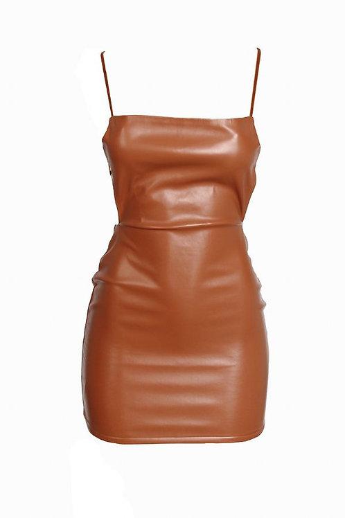 Sexy Caramel Dress