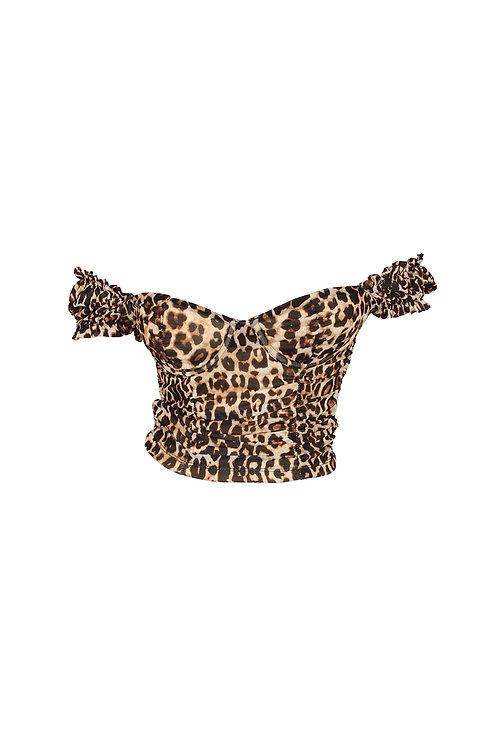 Cheetah Babe Top