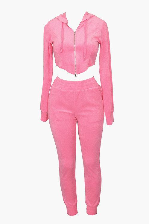 Pink Lyha Pant Set