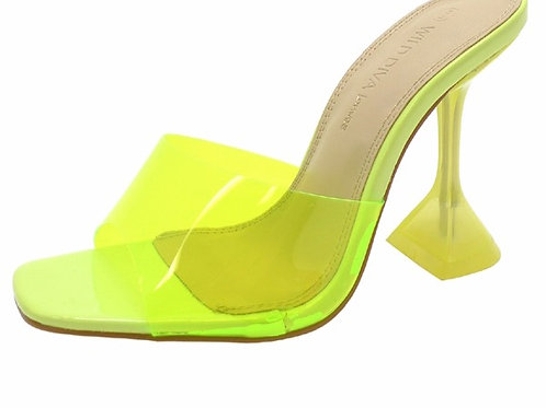 Yellow Princess Heel