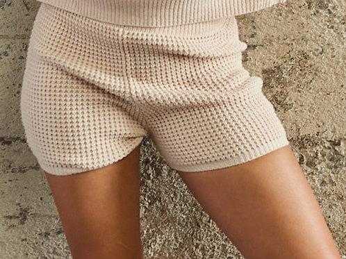 Pearled Ivory Shorts