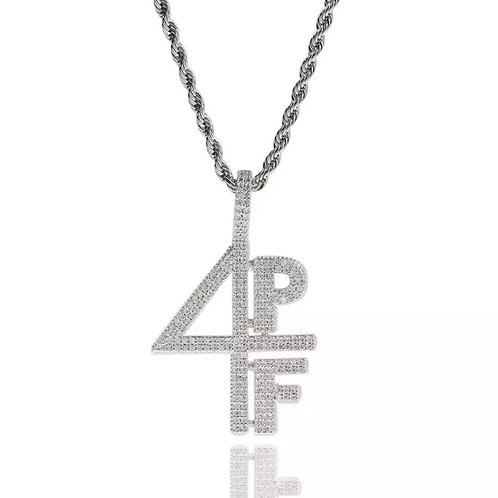 4 Pockets Full Chain (Silver)