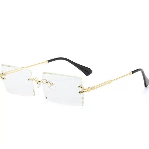 Transparent Rimless Glasses
