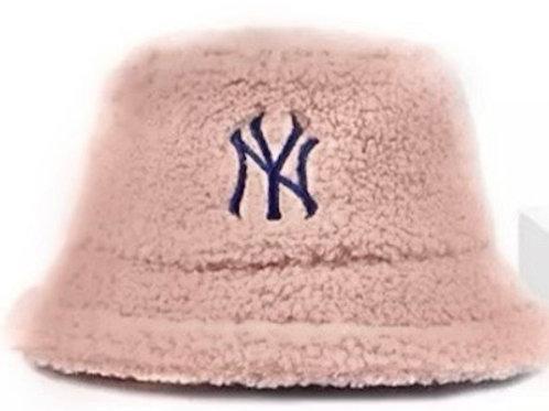 Mauve NY Bucket Hat