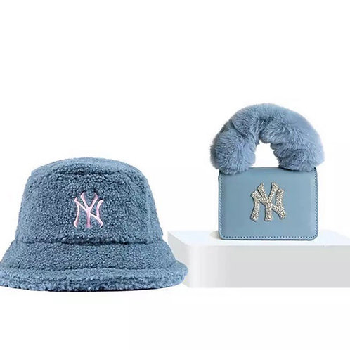 Blue NY Bucket Hat