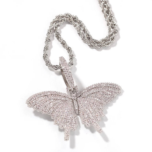 Mystical Silver Butterfly