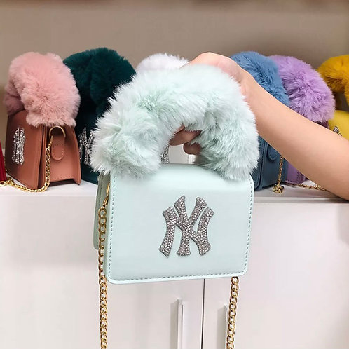 Light Blue NY Purse