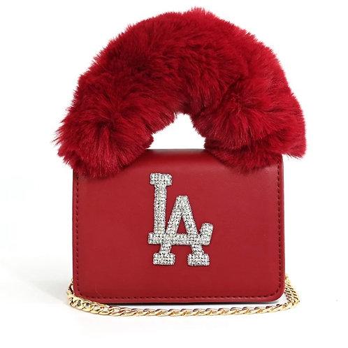 Red LA Purse