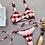 Thumbnail: Tie-Dye Lace Up Swimsuit