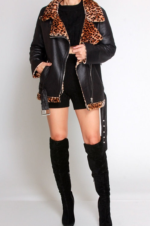Kitty Leather Jacket