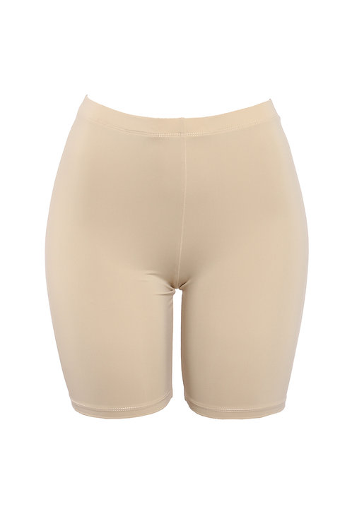 Taupe  Baddie Biker Shorts