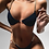 Thumbnail: Black Chain Two-Piece Swimsuit