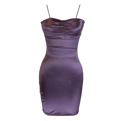 Dark Lavender Viviana Dress