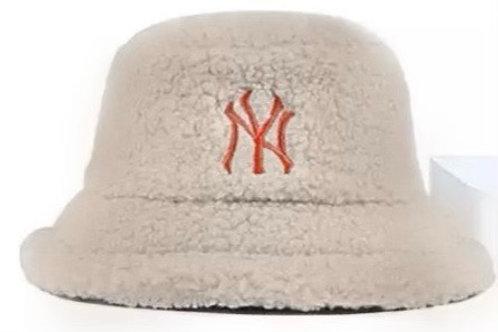 Tan NY Bucket Hat