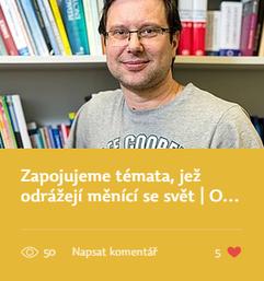 O problémech učitelské přípravy se Štefanem Chudým
