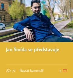 Jan Šmída se představuje