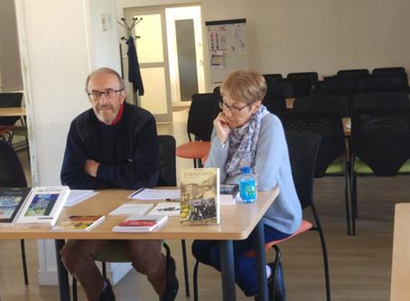 """Lire au CALM"" a reçu Pierre Monier - Lundi 6 mai 2019"