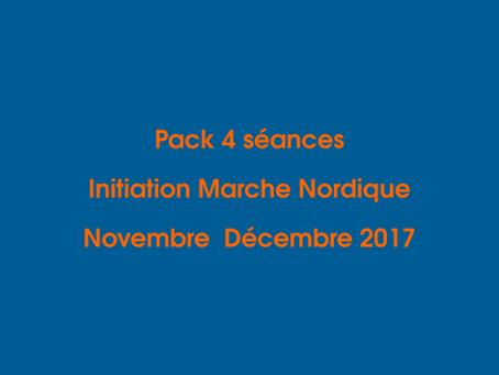 Marche Nordique : Pack 4 séances 'Initiation Marche Nordique'