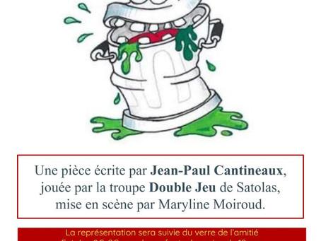 Théâtre 'Poubelle & Sébastien' dimanche 17 mars 15h
