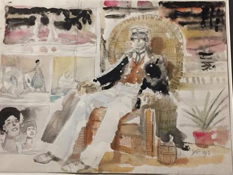 Exposition Hugo Pratt au musée Confluence  jeudi 6 mars 2019