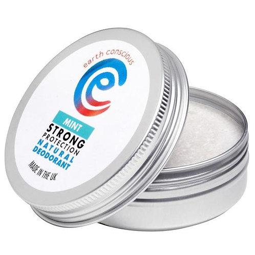 Earth Conscious Natural Deodorant Mint 60g