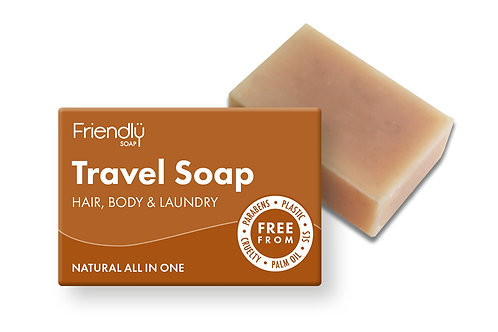 Travel Soap Lemongrass, Lavender, Tea Tree, &Peppermint 95g