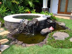 Niuiki Hot Tub with Waterfall