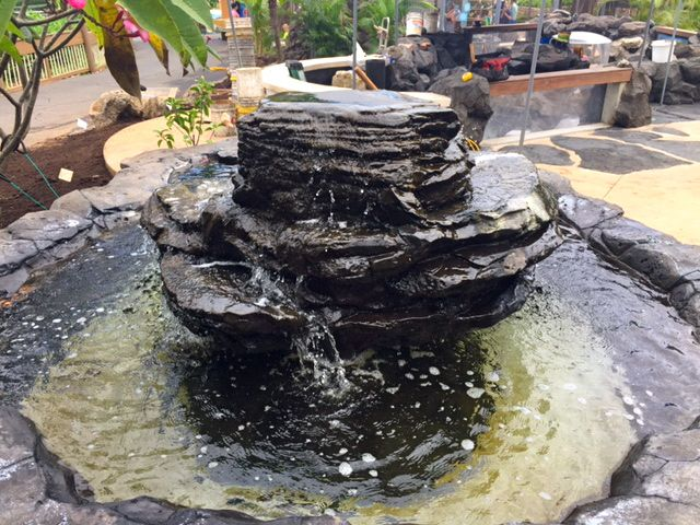 Sea Life Park Water Feature Fountain