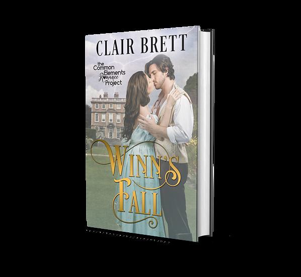WINN'S FALL-Autographed paperback